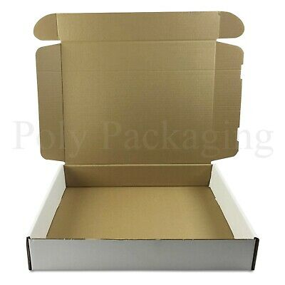 5 x WHITE Posting Boxes 419x338x72mm(16.5x13x3