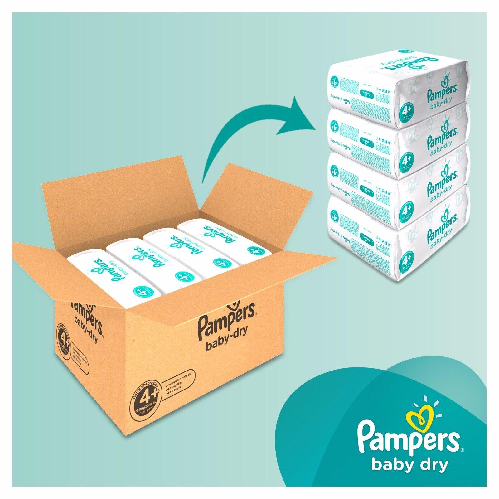 Купить Pampers BABY DRY Nappies Diapers MONTHLY SAVING Pack на eBay ... f7e33c3c8ce