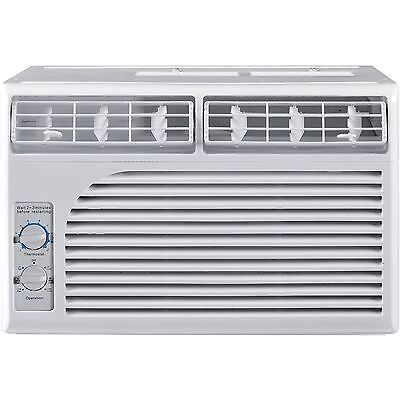 Cool Living 5000 BTU Air Conditioner Ac Window Mounted Room  White
