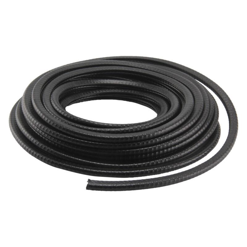 10m KFZ Kantenschutz Kederband Gummiprofil Dichtprofil Für 1-2mm PVC Schwarz NEU