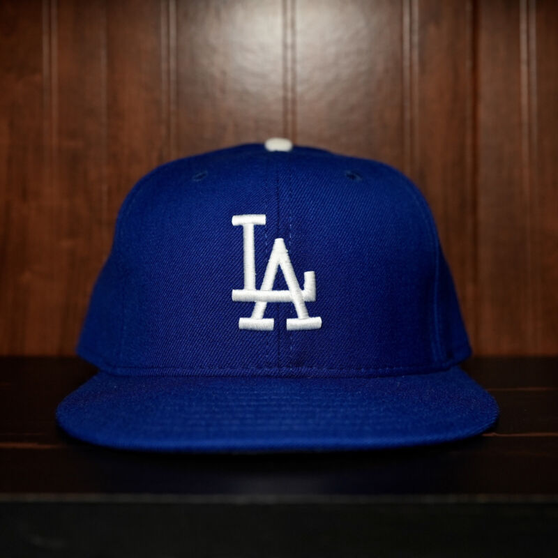 LA Dodgers Cooperstown Retro Classic Collection New Era Fitted 7 3/8