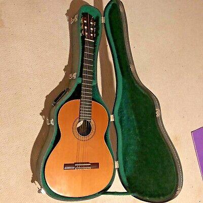 Scarce Gemza Classical Guitar, 1972, super condition, Original owner , OHSC