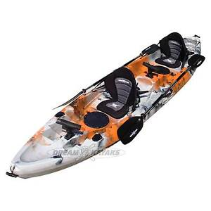 Albatross 5 Double Kayak | Tandem Fishing Recreational Exploring Belmont Belmont Area Preview