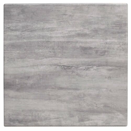 """CLOSEOUT: New 32"""" Square Isotop Sliq Table Top in Cement"""