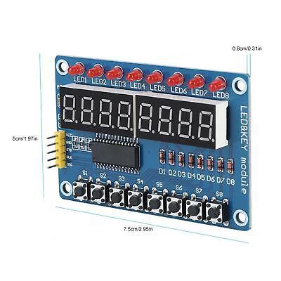 Led Digital Display Module Button-sensitive Display Tm1638 Led Digital Tube Key