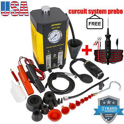 Smoke Leakage Detector Car Fuel Pipe EVAP Exhaust Intake System Diagnostic Tool
