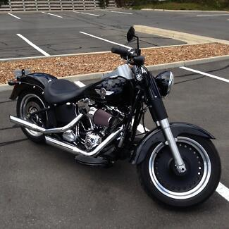 As new Fat Boy Low fitted with a FACTORY 120 RX MOTOR & RX KIT Adelaide CBD Adelaide City Preview
