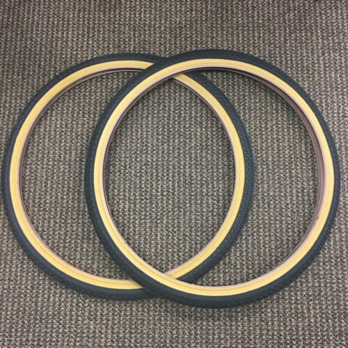 BICYCLE TIRES GUM WALLS FIT SEARS HUFFY MOUNTAIN ROAD BIKES OTHERS 26 x 1.75
