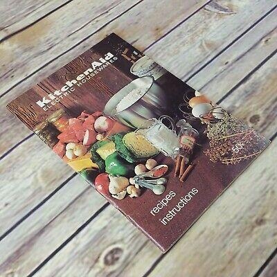 Vintage KitchenAid Cookbook Electric Housewares Recipes Kitchen Aid Hobart