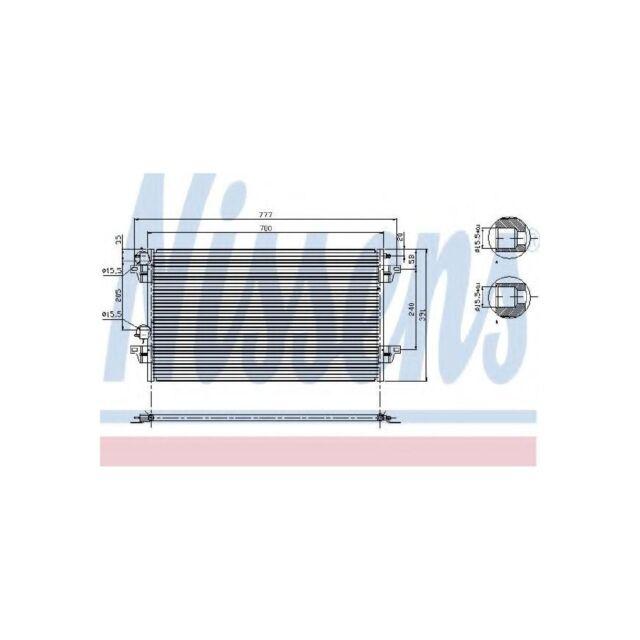 Genuine Nissens A/C Air Con Condenser - 94856