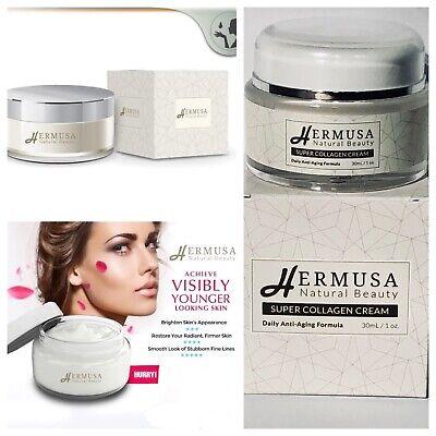 Hermusa Natural Beauty Super Collagen Cream Anti Aging Cream Best Anti Aging  (Best Hydrating Anti Aging Face Cream)