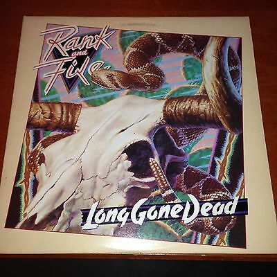 Rank And Fire-Long Gone Dead-Jeff Eyrich-LP-Slash-WarnerBro-1 25087-Vinyl Record