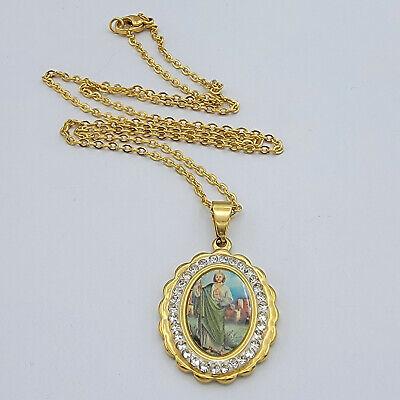 lovely scroll design Beautiful EdwardianArt Nouveau gold-filed locket original chain genuine garnets few scratches good condition