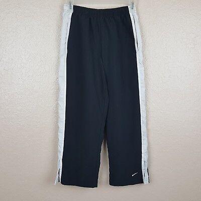 Nike Women's Activewear Capri Pants Estimate Small 4-6 Black Drawstring KK32