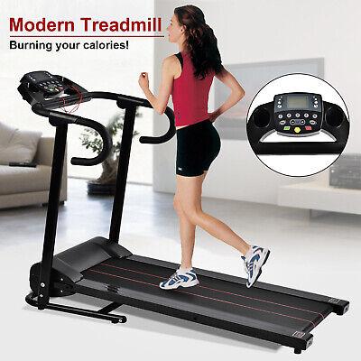 Motorized Electric Treadmill Folding Running Machine Portable Cardio Equipment
