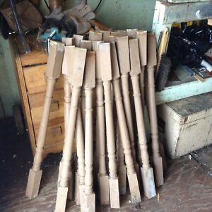 Wooden spindles for sale