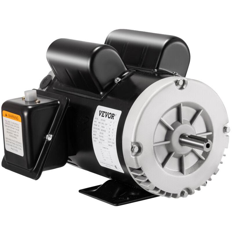 """5 HP SPL 3450 RPM Air Compressor 60Hz Electric Motor 208-230V 56Frame 5/8"""" Shaft"""