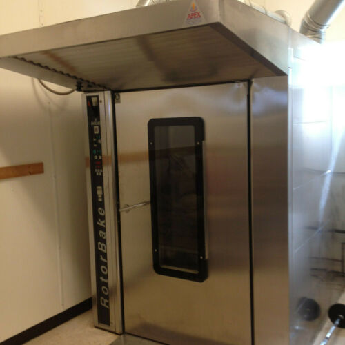 Double rack oven 2006 Gas Rotorbake Bake Off T12 / 14 w/ shipping available