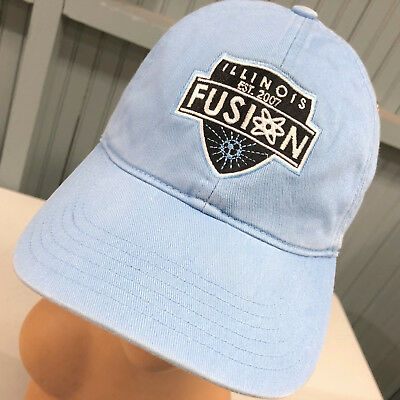 Illinois Fusion Soccer Strapback Baseball Cap Hat