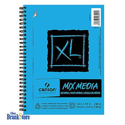 Spiral Sketch Book 60 Sheet Mix Media Sketchbook Pad Students Art Supplies