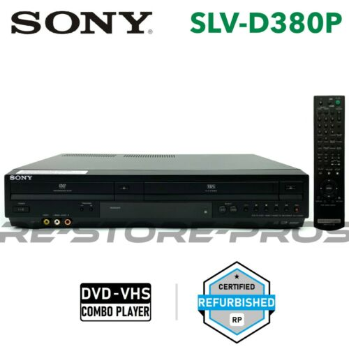 Sony SLV-D380P DVD VCR Combo Player Video Cassette Hi-Fi With Remote Manual