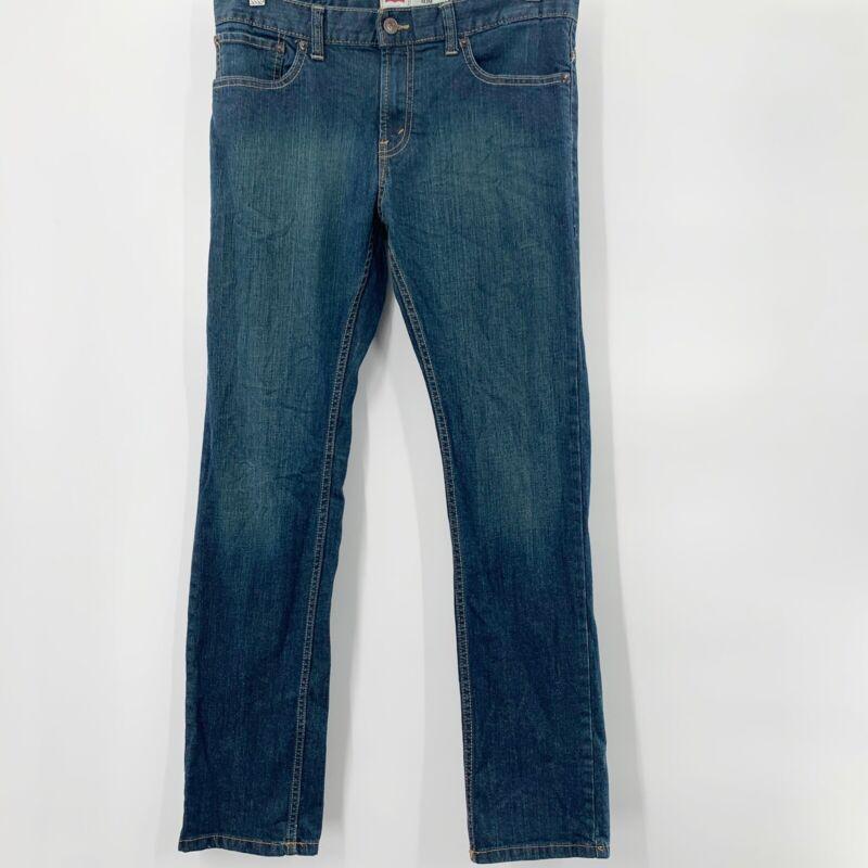 Levis Jeans Boys 511 Slim 18R W29 X L29 Antique Medium Wash Straight Leg