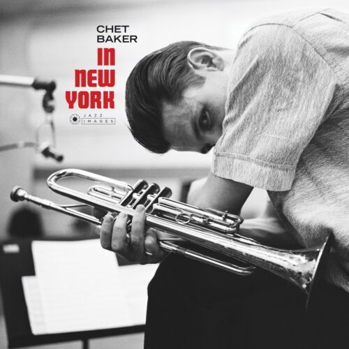 """Reproduction """"Chet Baker - In New York"""" Jazz Poster, Size: 16"""" x 16"""""""