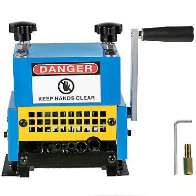 Durable Copper Wire Stripping Machine Hand Crank Operated Ca