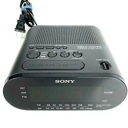 SONY ICF-C218 DREAM MACHINE AM / FM ALARM CLOCK RADIO. EXCELLENT CONDITION
