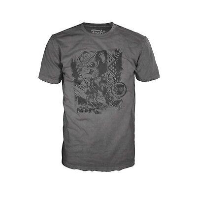 Funko Black Panther Jungle Grey Adult Tee Shirt NEW T Shirts Men's Movie  (Black Adult Movies)