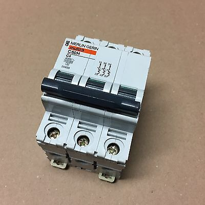 Merlin Gerin multi9 / Leistungsschutzschalter Circuit Breaker / C60H-C4