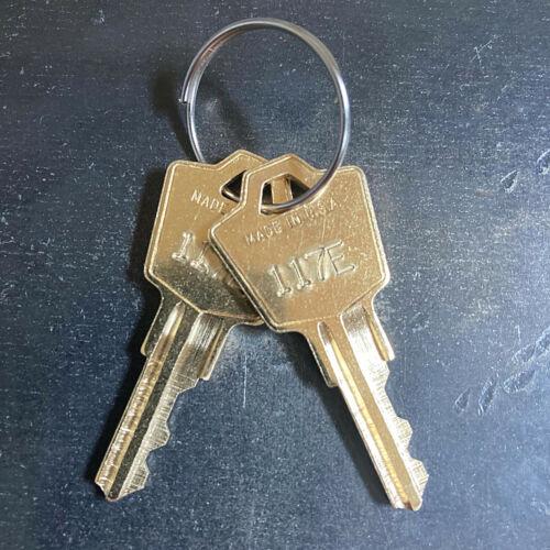 (2) or (3) Hon Filing Cabinet Replacement Keys - Key Code 101E - 225E -Free Ship