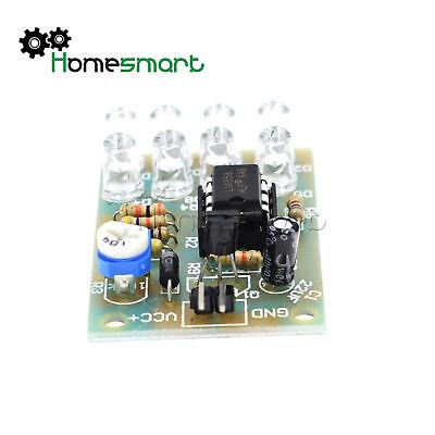 LM358 12V BREATHE BREATHING LIGHT LED FLASHING LAMP ELECTRONIC MODUL 8 LED