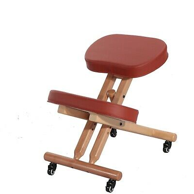 Master Comfort Plus Wooden Kneeling Chair Prefect For Home Office Meditation
