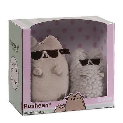 """Pusheen Sunglasses"" cooles Set Facebook Likes Katzen GUND Internet Kuscheltiere"