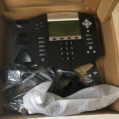 Polycom Soundpoint 2200-12550-001 Ip 550 4-line Sip Corded Voice Over Ip Phone