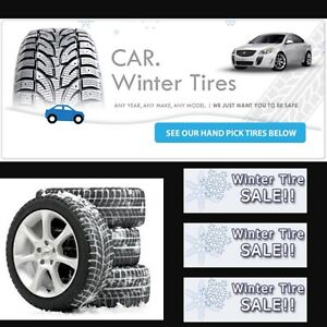 WINTER TIRE &RIM SALE&FINANCE @ZERO DOWN