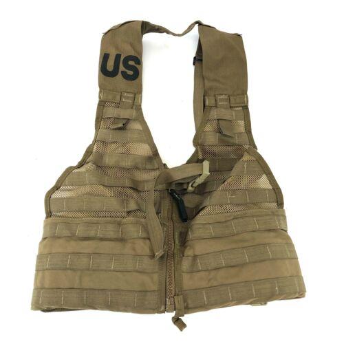 USMC FLC Vest Fighting Load Carrier, Marines Coyote Brown Rig MOLLE USGI
