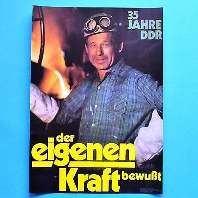 DDR Plakat Poster 216 | 35 Jahre DDR 1984 | 40 x 29 cm Original online kaufen