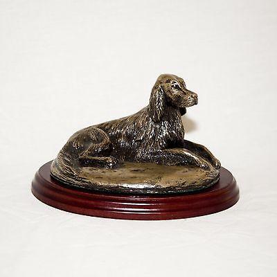 IRISH SETTER  Bronze Figurine. Hand made in England. Ideal gift.