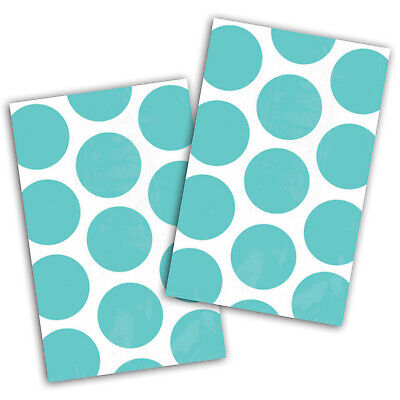 10 Polka Dot Spots ROBIN EGG BLUE Treat Loot Party Sweet Candy Paper Bags