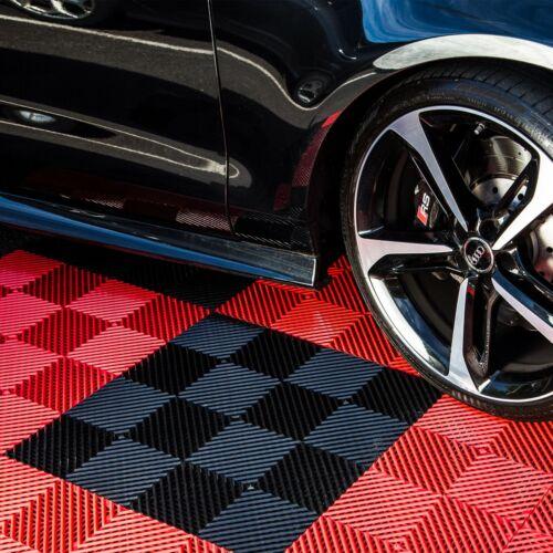 """FlooringInc Vented Nitro Garage Floor Tiles 12""""x12"""", 52 Pack, 52 sqft"""