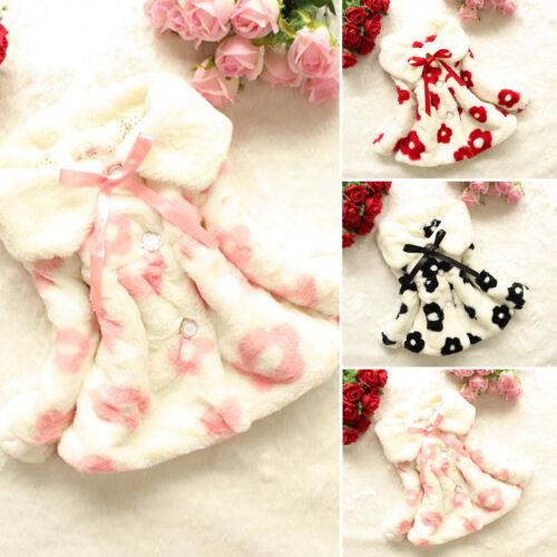 Kids Girls Warm Coat Toddler Outerwear