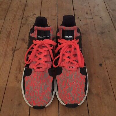 Men's Adidas EQT Equipment UK Size 10.5 Trainers,  excellent condition, Orange
