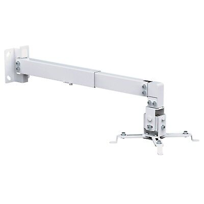 Universal Projector Wall or Ceiling Mount Bracket Tilt DLP LCD - 44 lbs - White for sale  Shipping to South Africa