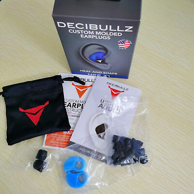 Decibullz - Custom Molded Earplugs Comfortable Hearing Protection For Travel.