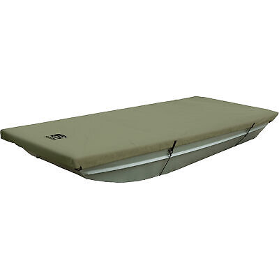 Classic Accessories Jon Boat Cover- Olive Fits 10ftL-14ftL x 62inW Boats