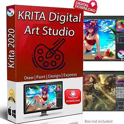 Krita 2020   Painting and 2D Animation Software   illustrator Art Editing