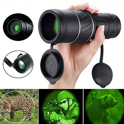 16x52 HD Zoom Monocular Telescope Night Vision Hunting Camping Outdoor Handheld