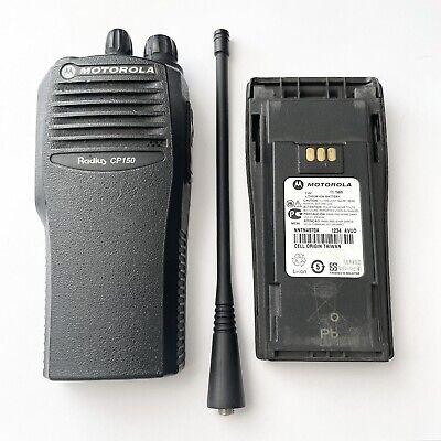 Motorola Radius Cp150 Two-way Handheld Radio Aah50kcc9aa1an